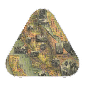 California Map Speaker