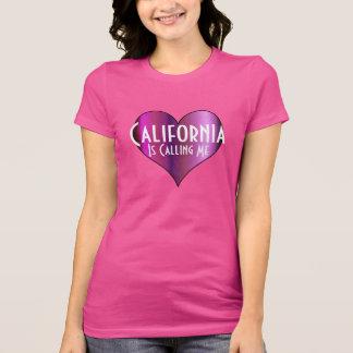 California me está llamando camiseta