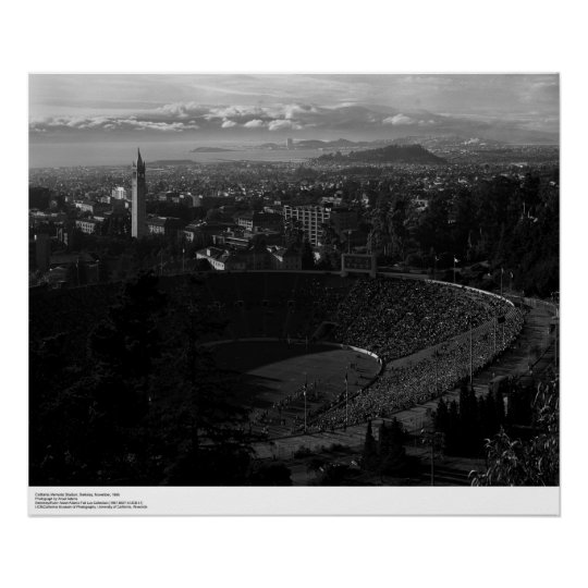 California Memorial Stadium Póster