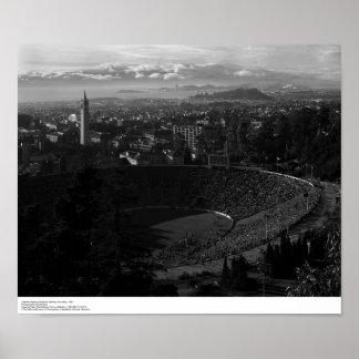 California Memorial Stadium Poster