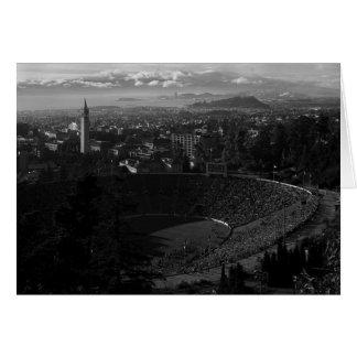 California Memorial Stadium, Uc Berkeley Tarjeta De Felicitación