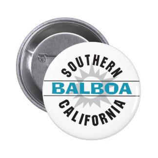 California meridional - balboa pin redondo de 2 pulgadas