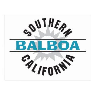 California meridional - balboa tarjetas postales