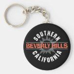 California meridional Beverly Hills Llavero Personalizado