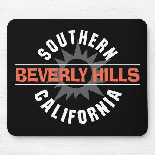 California meridional Beverly Hills Tapete De Ratones