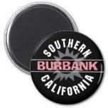 California meridional - Burbank Imán Redondo 5 Cm