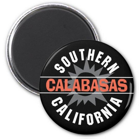 California meridional - Calabasas Imán Redondo 5 Cm