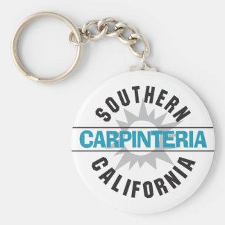 California meridional - Carpinteria Llavero Redondo Tipo Pin