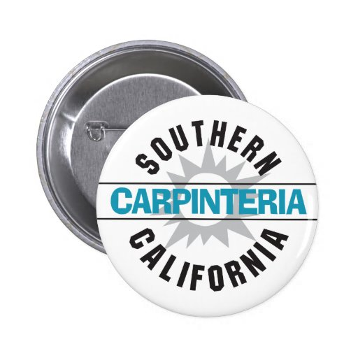 California meridional - Carpinteria Pin Redondo De 2 Pulgadas