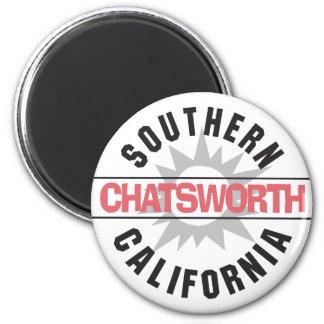 California meridional - Chatsworth Imán Redondo 5 Cm