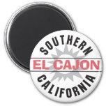 California meridional - EL Cajon Imán Redondo 5 Cm