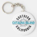 California meridional - isla de Catalina Llaveros Personalizados