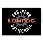 California meridional - Lompoc Felicitación