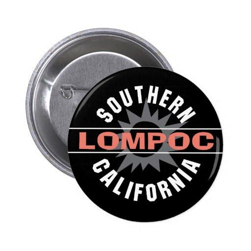 California meridional - Lompoc Pin Redondo 5 Cm
