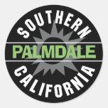 California meridional - Palmdale Etiqueta Redonda