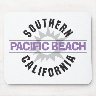 California meridional - playa pacífica tapetes de raton