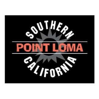 California meridional - Point Loma Tarjeta Postal