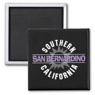 California meridional - San Bernardino Imán Cuadrado