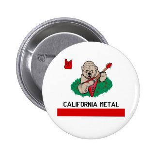 CALIFORNIA METAL BUTTON