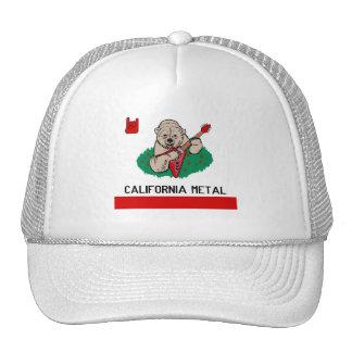 CALIFORNIA METAL HAT