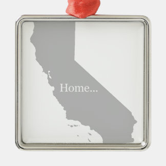 California Metal Ornament