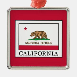 California Metal Ornament