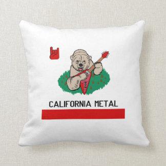 CALIFORNIA METAL PILLOW
