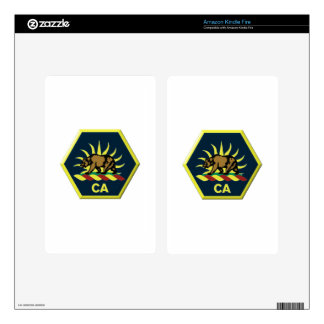 California Military Reserve Skin For Kindle Fire