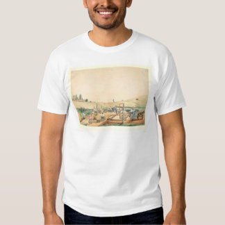 California Miners Working an Arrastra (0111A) T-Shirt