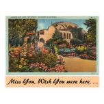 California, misión San Juan Capistrano Tarjeta Postal