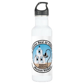California Mission Walkers Water Bottle