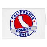 California Mitt Romney Card