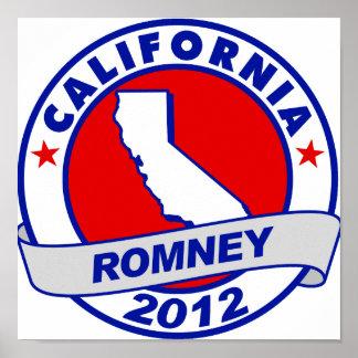 California Mitt Romney Impresiones