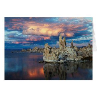 California, montañas de Sierra Nevada Tarjeta De Felicitación
