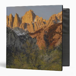 California, Mount Whitney, Inyo National Forest 3 3 Ring Binder