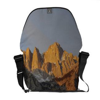 California, Mount Whitney, Inyo National Forest 3 Messenger Bag