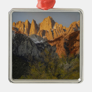 California, Mount Whitney, Inyo National Forest 3 Metal Ornament