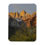 California, Mount Whitney, Inyo National Forest 3 Rectangle Magnets