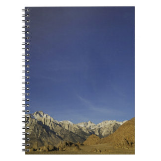 California, Mount Whitney, Inyo National Forest Spiral Notebook