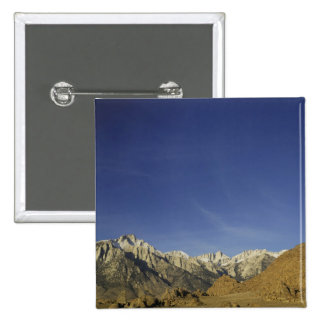 California, Mount Whitney, Inyo National Forest Pinback Button