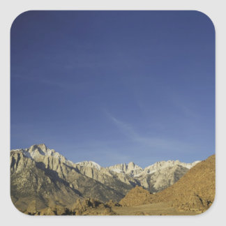 California, Mount Whitney, Inyo National Forest Square Sticker