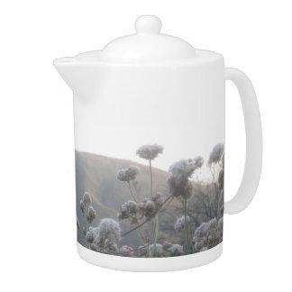 California Mountain Wildflowers Teapot