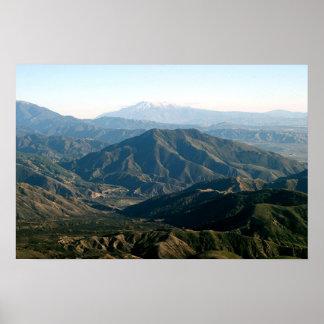 California Mountains 2 Poster