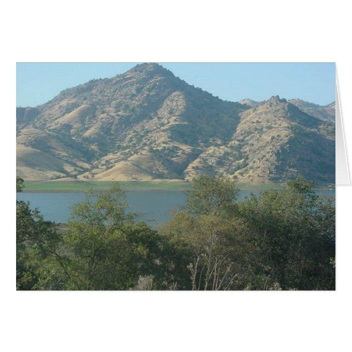 California Mountains Card
