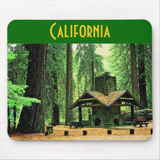 California Mousepad