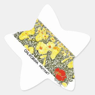 California Mutant Star Sticker