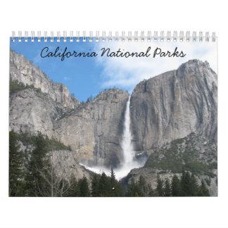 California National Parks 2018 Calendar