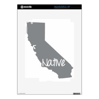 California Native Pride CA Skins For iPad 2