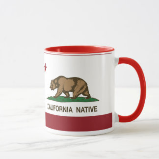 California Native Republic Flag Mug