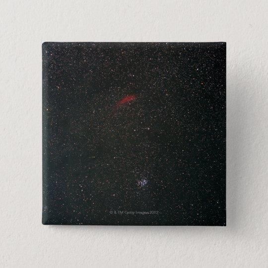 California Nebula and Pleiades Button